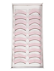 10Pcs False Eyelashes(Pink)