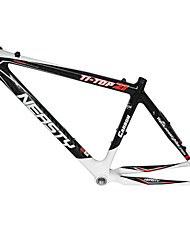 "MB-NT102 MTB bicicleta Carbon Black completa + Branco 17 ""Quadro 3K com NEASTY Decal"