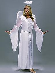 Heavenly Angel White Polyester Women's Halloween Costume