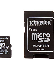 класс Kingston 10 8gb карта MicroSDHC памяти TF с адаптером SD Card