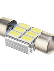 Girlande Auto Kaltweiß 2W SMD 5730 6000 Instrumenten Anzeige Licht Nummernschild Licht Bremslicht Blinklicht