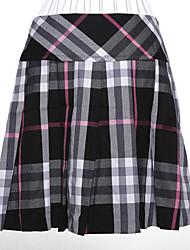 WEIER Compruebe corto vestido
