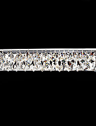 Crystal LED Wall Light, 7 LED, moda Ferro placcatura