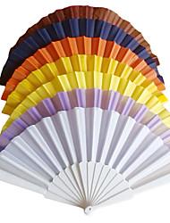 Color sólido polipropileno Fan fibra Mano - Juego de 4 (más colores)