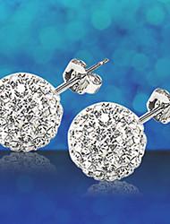 MISS U Women's Silver Earrings