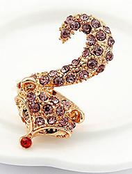 Women's Fashion New Style Gemmy Fox Ring