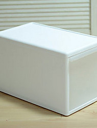 Korean Style White Storage Cabinet For Clothes