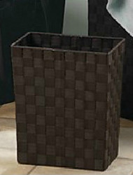 Classic Brown Knitted Storage Bin