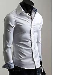 Men's Tops & Blouses , Cotton/Nylon Casual/Work KICAI