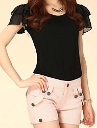 Elastici pantaloni a vita alta da Meiyishen donne