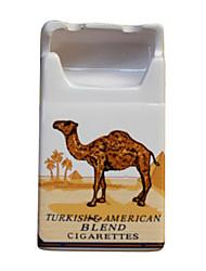 Творческий Верблюд сигареты Пакет Керамическая пепельница