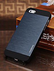 Cas Brève Joyland métal de tréfilage pour l'iPhone 5/5S (couleurs assorties)