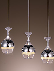 French-Style Creative 3 Light Pendant in Shape Of Goblet