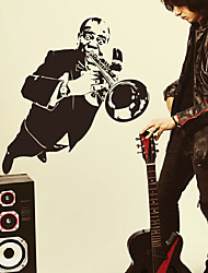 People Musician Wall Stickers