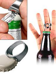2.2cm d'anneau de modèle Alloy Mini Bottle Opener (couleur aléatoire)