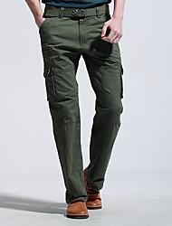Pantalons brevet extérieure multi poche des hommes