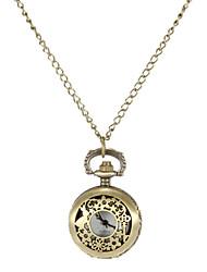 Mulheres Relógio de Moda Quartzo Lega Banda Flor Bronze Bronze