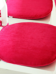 Fuchsia Washable Chair Pad, Polyester/Nylon 18*17
