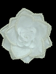 Women's Imitation Pearl/Fabric Headpiece - Wedding/Special Occasion/Outdoor Flowers
