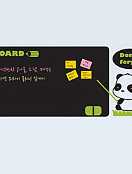 Blackboard sticker mural, amovible, Panda enseignants