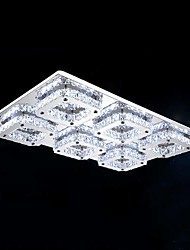 48 W Flush Mount ,  Modern/Contemporary Electroplated Feature for LED Metal Living Room / Bedroom / Dining Room