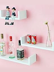 Modern Creative Wood Hanging Storage Shelf (1 Piece)