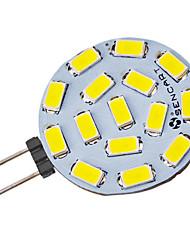 Faretti 15 SMD 5730 G4 4.5 W 310-320 LM 6000-6500 K Luce fredda V