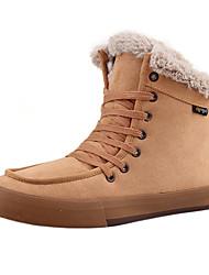 3 Color Men's Leisure Lace-up Ankle Boots