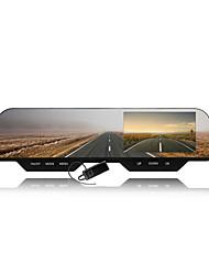 Carro Espelho Retrovisor com 4,3 polegadas 1080p DVR Gravador de Vídeo LCD HD e função Bluetooth plugable