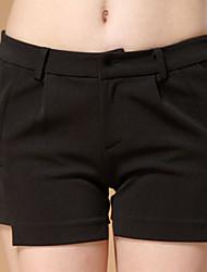 Onodar Frauen Freizeit schwarze kurze Hosen