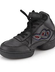 натуральная кожа верхних танцевать современные танцы кроссовок обувь практике обувь для женщин / мужчин