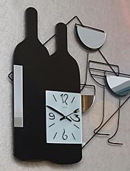 """24 """"stile moderno orologio da parete in metallo di modo"""