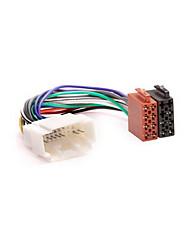 ISO Wire Harness Plug Adapter för HONDA 1999 + ACURA 1999 + / SUZUKI 2001 +