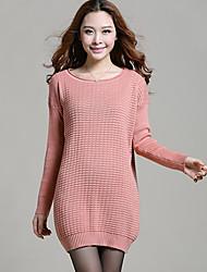 Женская мода Леди вязание свитера