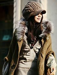 Inverno Lana Knitting Cappello donna