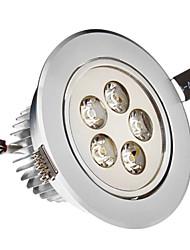 5W 5xHigh Мощность 475LM 6200K холодный белый свет светодиодные утопленный вниз свет - Серебряная гарантия (85-265В)