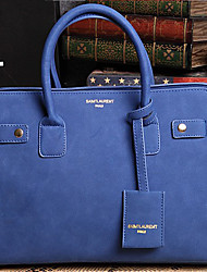 Backroom Fashion OL Frosted Tote(Royal Blue)