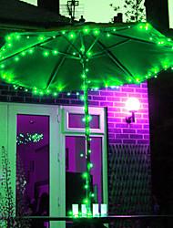 12M 100 LED-RGB-LED-Solar Streifen Licht für Weihnachtsschmuck