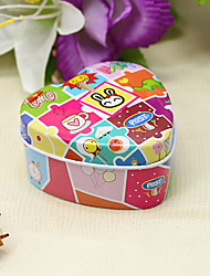12 Piece/Set Favor Holder - Heart-shaped Tins Favor Tins and Pails/Favor Boxes Non-personalised