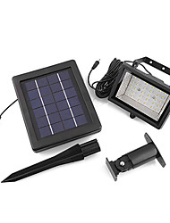 Solar Power Ultra Bright 30 LED Jardin Flood Spot Light pelouse fraîche lampe blanche (CEI-57214)