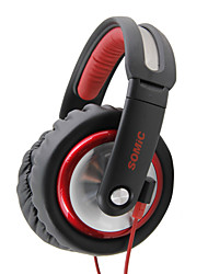 Somic MH489 Headphone 3.5mm Over-Ear Foldable Stereo  Monitoring  for PC/Mobile/DJ