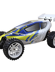 5.1 2WD Gas Powered Ready To Run RC Buggy (Blau & Weiß)
