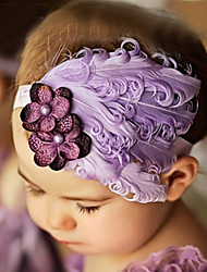 Girl's Elegant Flower Headband