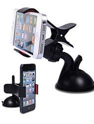 Premium 360 Degree Rotatable Universal Car Holder with Suction Cup for Mobile Phone iPhone 8 7 Samsung Galaxy S8 S7