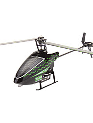 Attop yard-117 2.4G 4CH Single Blade Build-In Gyro RC Helicopter Zonder Aileron (met LCD-scherm)