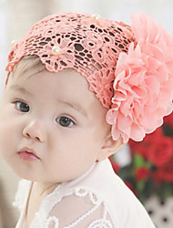 Girl's Pearl Floral Headband