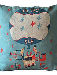 Ballon Music Decorative Pillow Cover