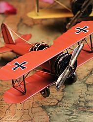 """8 """"Estilo Retro Avião Tipo Laranja metal Collectible"""