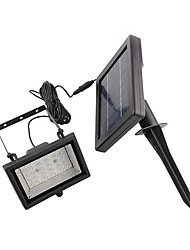 Solar Power Ultra Bright 30 LED Garden Flood Spot Light Lawn Cool White Lamp(CIS-57258)