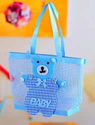 Lovely Bear Decorated Favor Bag for Baby Shower - Set of 12